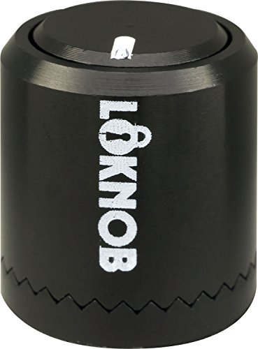 Loknob ロックノブ ロック式ノブ Loknob Big ミリ 黒 【国内正規輸入品】 エフェクターのツマミを固定するアイテム「Hawkeye Knob / Beatwalk」が超オススメ!ツマミロック!