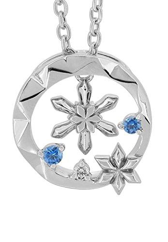 [ディズニー] Disney [ 数 量 限 定 ] アナと雪の女王 雪の結晶 シルバー 925 ネックレス レディース 公式 オフィシャル