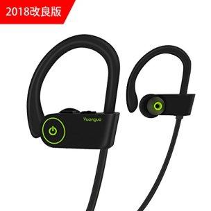 HolyHigh Y2 Bluetoothイヤホン スポーツ用 ブルートゥース イヤホン ワイヤレス イヤホン 防水防汗 無線 高音質 マイク付き 小さくて精巧 専用ケース付 iPhone/Androidに対応(ブラック)