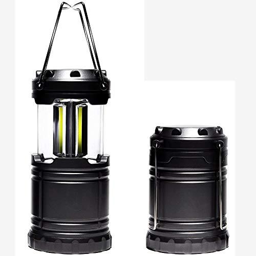 LEDランタン 明るい キャンプランタン 携帯型ランタン 引くだけで 自動点灯 脅威の明るさ 電池式 COB スラ...