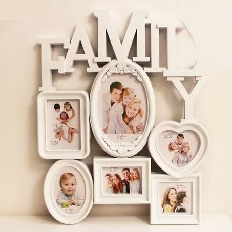 家族の写真を飾るのに最適のフォトフレーム