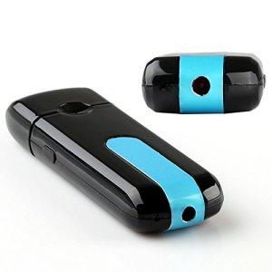 USBメモリー型ビデオカメラ ピンホールカメラ 小型防犯隠しカメラ 超小型スパイカメラ 高性能ピンホールMINI HDカメラ DVR U8 USB 32GB対応  ホテル/レストラン防犯ピンホールカメラ