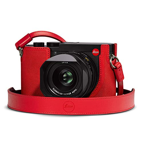 Leica Q2 キャリーストラップ (レッド)