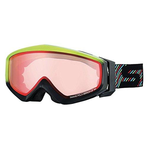 SWANS(スワンズ) ゴーグル 眼鏡使用可 スキー スノーボード 偏光 ミラー ゲスト GUEST-MPDH