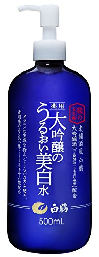 白鶴 鶴の玉手箱 薬用 大吟醸のうるおい美白水 500ml (美白化粧水/医薬部外品)