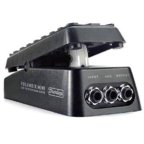 Jim Dunlop [ダンロップ] DVP4 Volume (X) Mini Pedal 【最新小型ボリュームペダル特集】安くて小さいエフェクターボードに邪魔にならないコンパクトなミニサイズのオススメヴォリュームペダル!大きいペダルとおさらば!