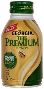 コカ・コーラ ジョージア ザ・プレミアム 微糖 260ml ボトル缶×24本