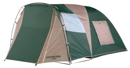 キャプテンスタッグ(CAPTAIN STAG) キャンプ用品 テント CS ツールームドーム キャリーバッグ付 [3-4人用]M...