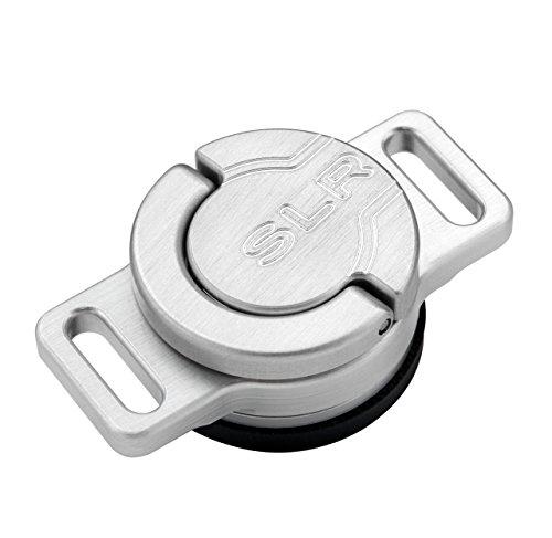 CustomSLR C-Loop 回転ストラップマウント(三脚穴取付) 16010 シルバー