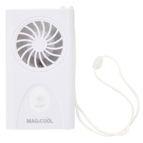 携帯型(首かけ)扇風機 マイファンモバイル 大風量 熱中症・暑さ対策、予防 DMFM-W1