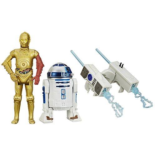 スターウォーズ/フォースの覚醒 3.75インチ ベーシックフィギュア ミッションシリーズ 2パック C-3PO & R2-D2 / STAR WARS THE FORCE AWAKENS 2015 MISSION SERIES 【並行輸入品】 最新 映画 エピソード7