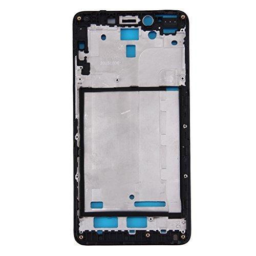 Xiaomi Redmi Note 2用フロントパネルLCDフレームベゼル(ブラック)用の壊れた携帯電話を修理 携帯電話のスペアパーツ (色 : Black)
