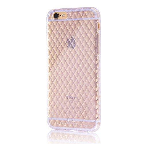 レイ・アウト iPhone6 ケース キラキラ・ソフトジャケット ラメクリア RT-P7C7/C