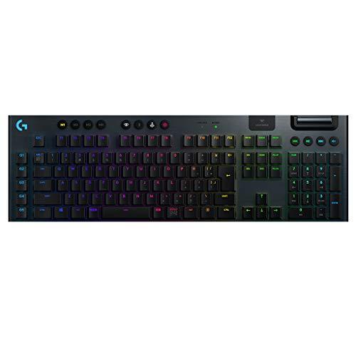 Logicool G ゲーミングキーボード ワイヤレス G913-LN ブラック メカニカルキーボード リニア 日本語配列 L...
