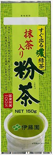 伊藤園 すぐ出る濃緑茶 抹茶入り粉茶 150g