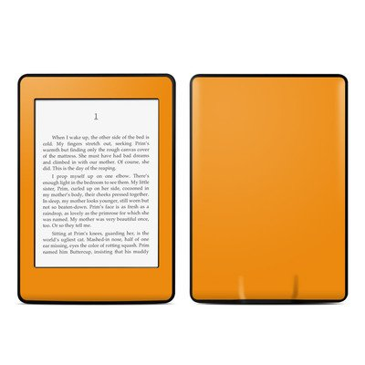 Amazon Kindle Paperwhite スキンシール【Solid State Orange】