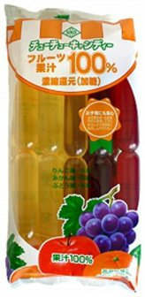 花田食品 フルーツ果汁100% (60ml×10本)×15袋
