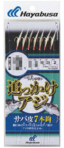 ハヤブサ(Hayabusa) 一押しサビキ 追っかけアジ サバ皮 7本 SS237 9-2-4