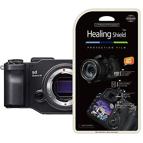 Healing Shield SIGMA SD Quattro H 專用 プレミアム クリアタイプ 液晶保護フィルム 2枚