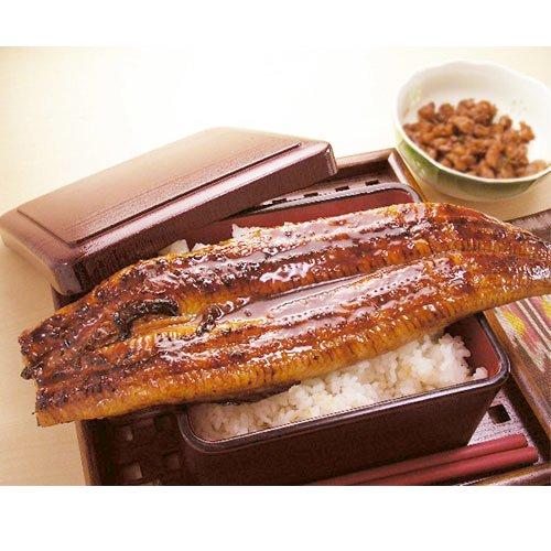 肉厚タップリの超特大サイズの国産うなぎ蒲焼きをお父さんにプレゼント