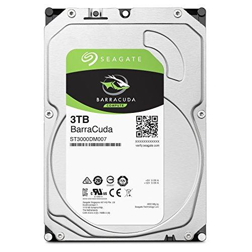 Seagate BarraCuda 3TB【 2年保証  】正規代理店 3.5インチ HDD 内蔵 ハードディスク SATA 6Gb/s 64GB 5400...