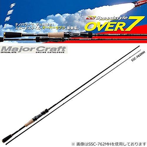 メジャークラフト バスロッド ベイト スピードスタイル OVER7 ベイト SSC-742H 釣り竿
