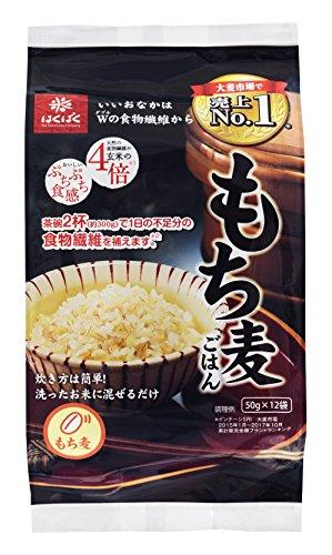 はくばく もち麦ごはん50g(12袋)