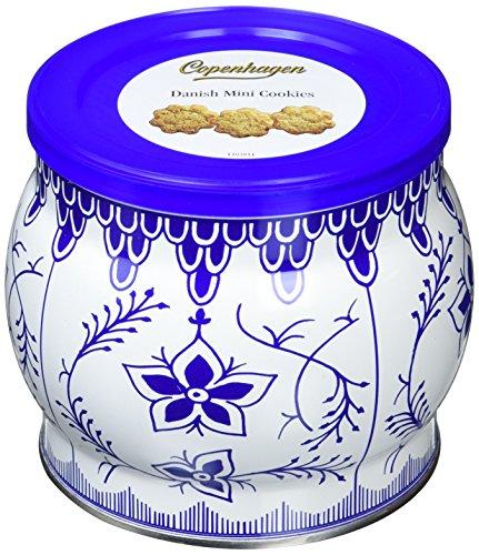 コペンハーゲンのダニッシュミニクッキーは缶もおしゃれでギフトに最適