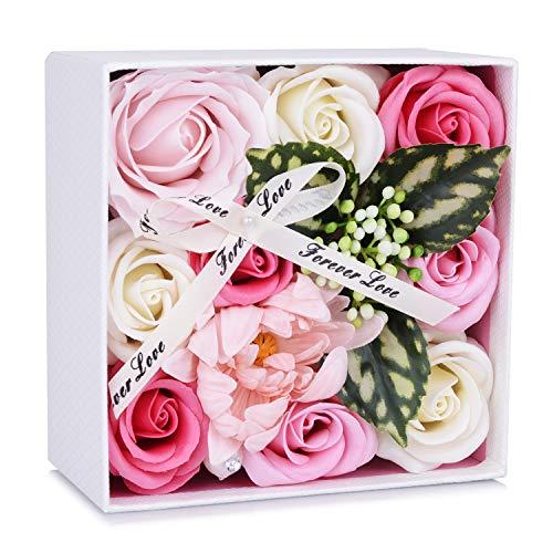 ソープフラワーは60代女性に贈るちょっとしたプレゼントに人気