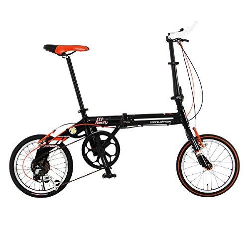 DOPPELGANGER(ドッペルギャンガー) 折りたたみ自転車 FALTRADシリーズ ROADFLY 111 16インチ 軽量アルミフレーム