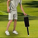 ゴルフボールピックアップバッグ、ポータブルゴルフボールピッカーピックアップレトリーバーグラバーポケットストレージバッグスクーピング装置<br/>