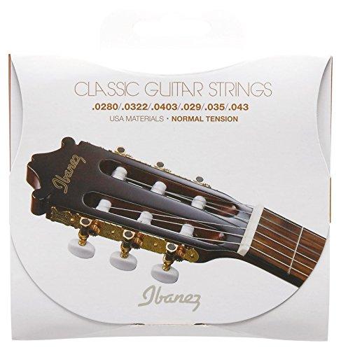 Ibanez アイバニーズ ガットギター用 ナイロン弦 ノーマルテンション ICLS6NT