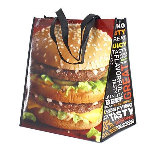 PPトートバッグ マクドナルド ビッグマック McDonald's ショッピングバッグ アメリカ雑貨 アメリカン雑貨