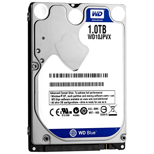 WD 内蔵HDD Blue 1TB 2.5inch PS4動作検証済み SATA6.0G 5400rpm 8MBキャッシュ WD10JPVX