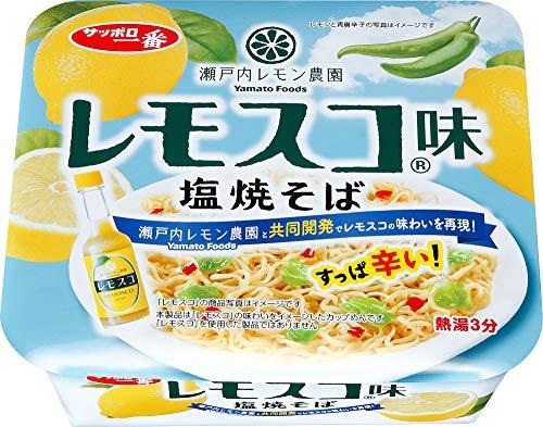 サッポロ一番 レモスコ味 塩焼そば 99g×12個