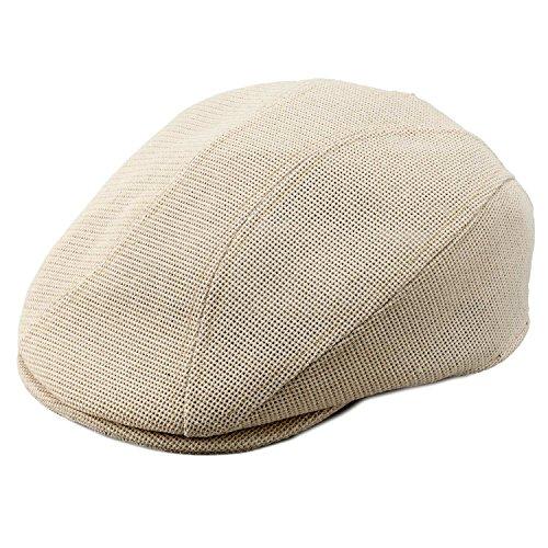 熟練の職人が作った帽子を祖父にプレゼント