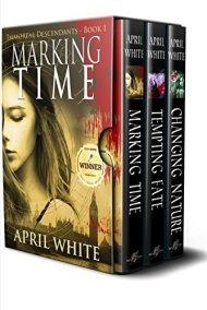The Immortal Descendants: Books 1-3 by [White, April]
