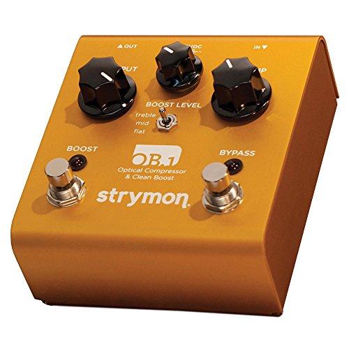[国内正規品]Strymon コンプレッサー OB.1 (ストライモン:オービーワン) 【徹底解説】strymon(ストライモン) エフェクター全製品一覧! 最高峰のペダルの感想・レビュー付き。【動画・スペック・価格】
