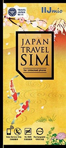 IIJ Japan Travel SIM for unlocked phone 1.5GB(nano/micro/標準SIMマルチ対応) IM-B231