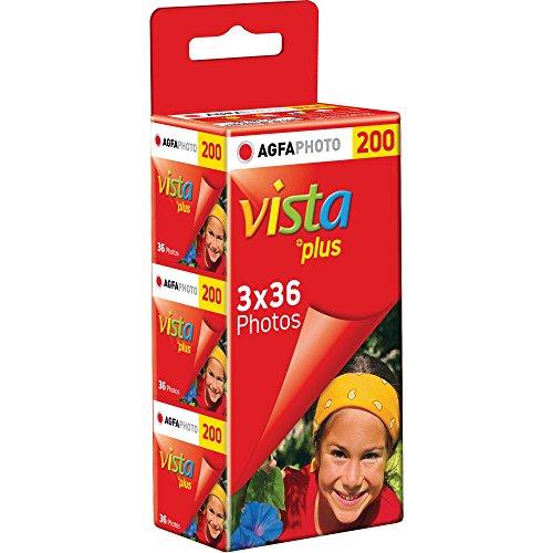 Agfa カラーネガフィルム Vista200 35mm 36枚撮り 3本セット