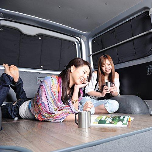 『01s-c015-re』【日本製】N-BOX JF1/2系 カーテン サンシェード カスタム 内装 車中泊 パーツ リア 前期 後期 N-BOX+ N-BOXカスタム N BOX エヌボックス