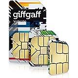 GiffGaff sim card with ?5 FREE credit