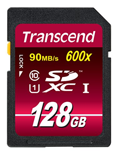 Transcend SDXCカード 128GB Class10 UHS-I対応 (最大転送速度90MB/s) 無期限保証 TS128GSDXC10U1
