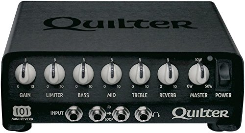 Quilter ( クイルター ) 超軽量&コンパクト 50W ギターヘッドアンプ 101-REVERB 【440g~】超小型アンプ特集!小さく持ち運びも楽で良い音のする安い小型ヘッドアンプ!