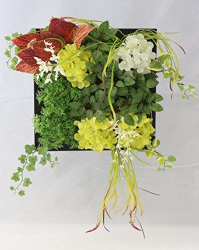彩か SAIKA ウォールデコレーション Green Wall Décor ルージュリーフ 絵のように飾って光触媒機能で環境をクリーンにするインテリアグリーン CF-324