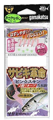 がまかつ(Gamakatsu) サビキ革命 ピンクスキン S138 5号-ハリス0.8