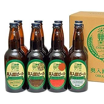奥入瀬ビール 8本入【送料込】: 食品・飲料・お酒