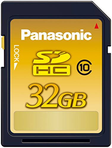 Panasonic 32GB SDHCメモリーカード CLASS10 RP-SDWA32GJK