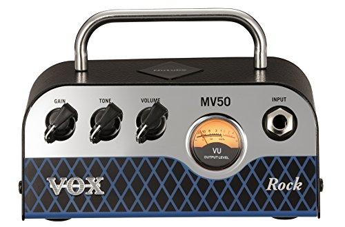 VOX 新真空管Nutube搭載 ギター・アンプ・ヘッド MV50 Rock タイプ 【440g~】超小型アンプ特集!小さく持ち運びも楽で良い音のする安い小型ヘッドアンプ!