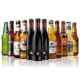 【父の日特別セット】世界のビール12本飲み比べギフトセット スペイン産高級ビール豪華3本入!スペイン・イタリア・ドイツ・ベルギーなどビール本場より大集結!全種類の商品説明がわかるビールリスト付